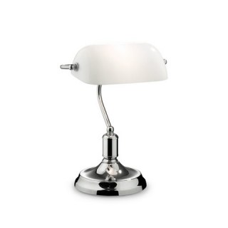 Lawyer Tl1 Cromo banklámpa Ideal Lux 45047